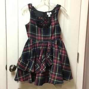 Plaid Dress XL (14/16) Lined 2 layers of tool NWT